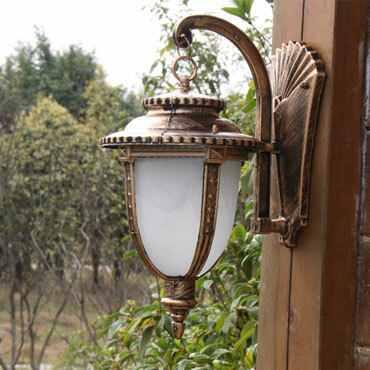 Đèn gắn tường thủy tinh cổ điển ROL111