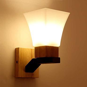 Đèn tường ốp gỗ hiện đại XTE 253