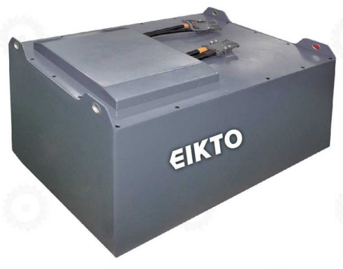 Bình ắc quy khô Li-ion (Lithium - Ion) 80V/450Ah dùng cho xe nâng, mới 100%