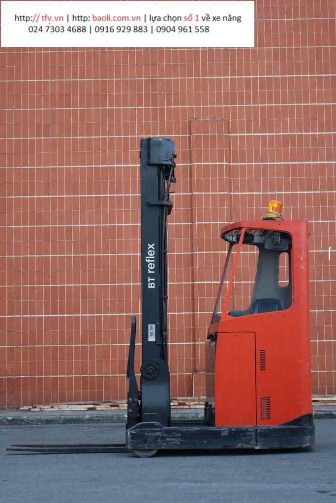 Xe nâng Reach truck ngồi lái BT RRE 160 CC, 7000mm, SK 6201108,  2012. SS