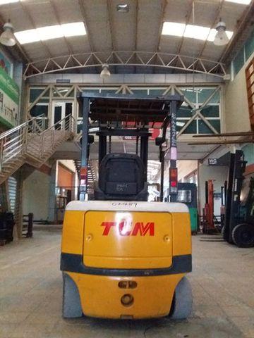 Xe nâng điện cũ hiệu TCM