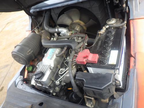 Xe nâng dầu cũ ngồi lái hiệu Toyota 02- 8FD25