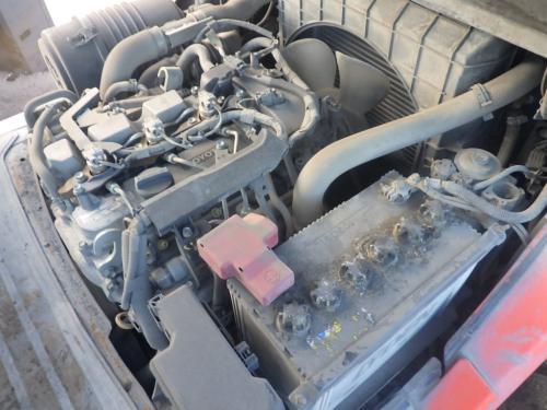 Xe nâng dầu cũ ngồi lái hiệu Toyota 02- 8FD30