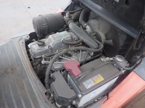 Xe nâng dầu cũ ngồi lái hiệu Toyota 50-8FD30