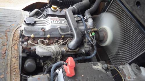 Xe nâng dầu cũ ngồi lái hiệu Toyota 60- 7FD20