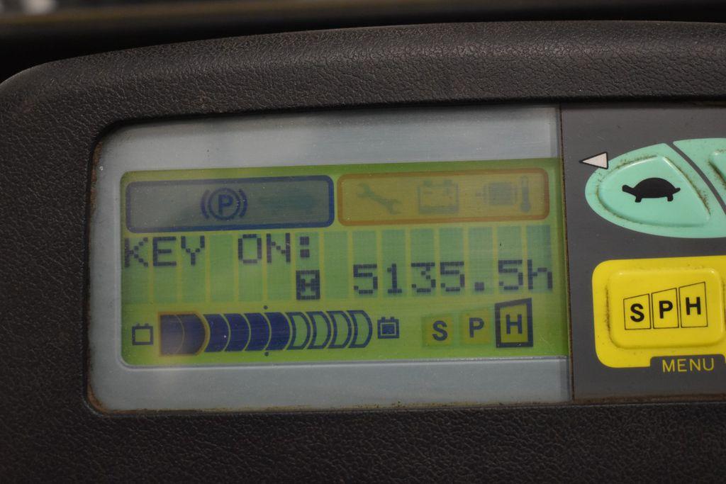 Xe nâng điện ngồi lái Toyota 7FBMF20