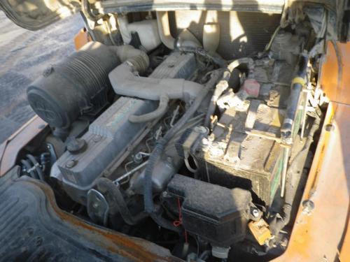 Xe nâng dầu cũ ngồi lái hiệu Toyota 7FD35