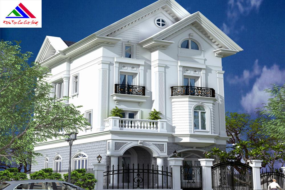 Đơn giá thiết kế kiến trúc nhà phố, biệt thự đẹp