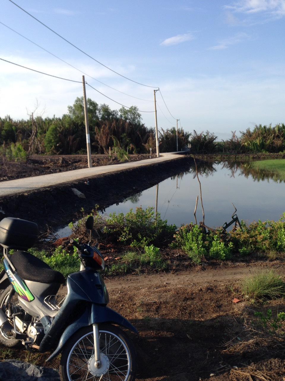 Bán đất Xã An Thới Đông huyện Cần Giờ, DT 1000m2, giá 880 triệu/m2