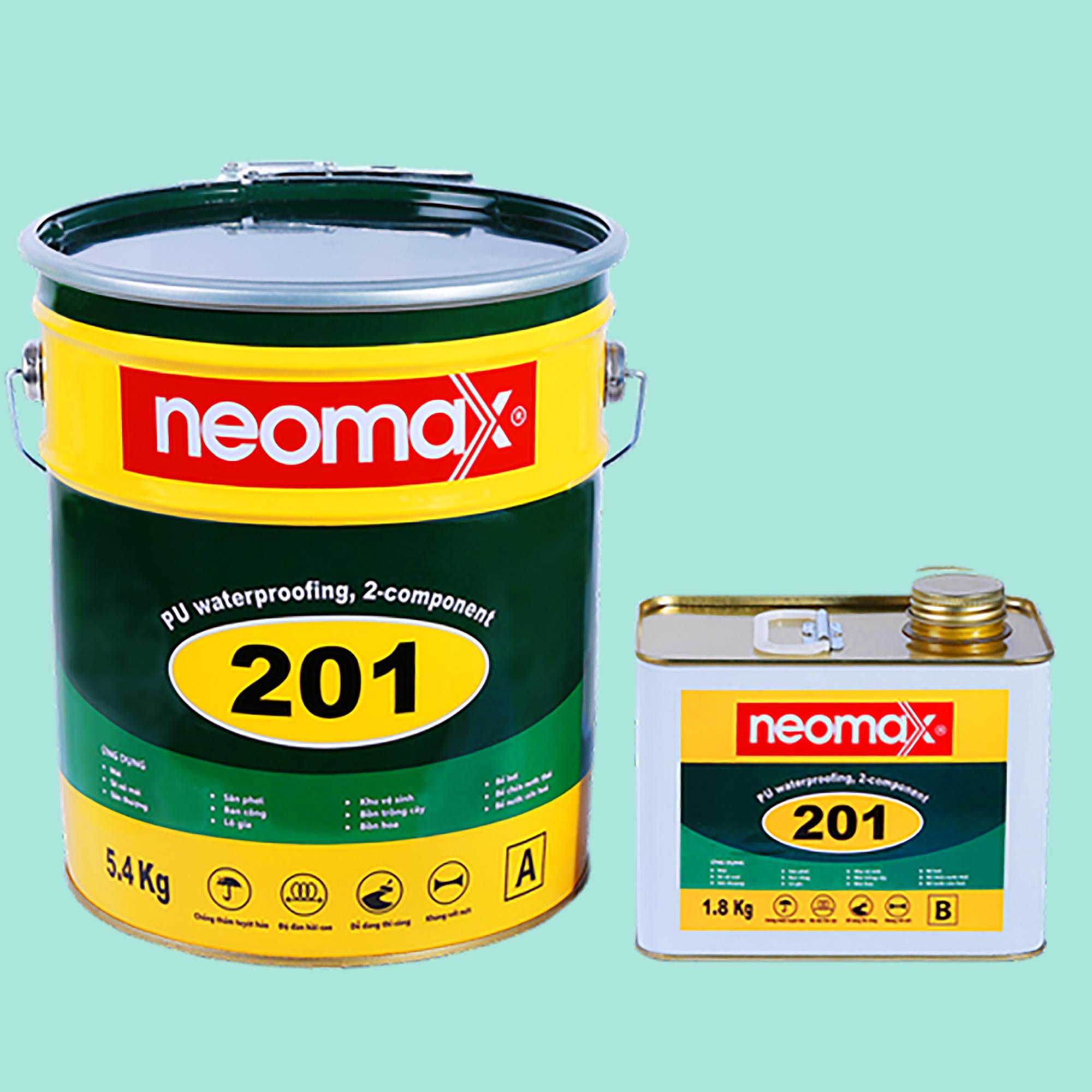 sơn chống thấm sân thượng neomax 201