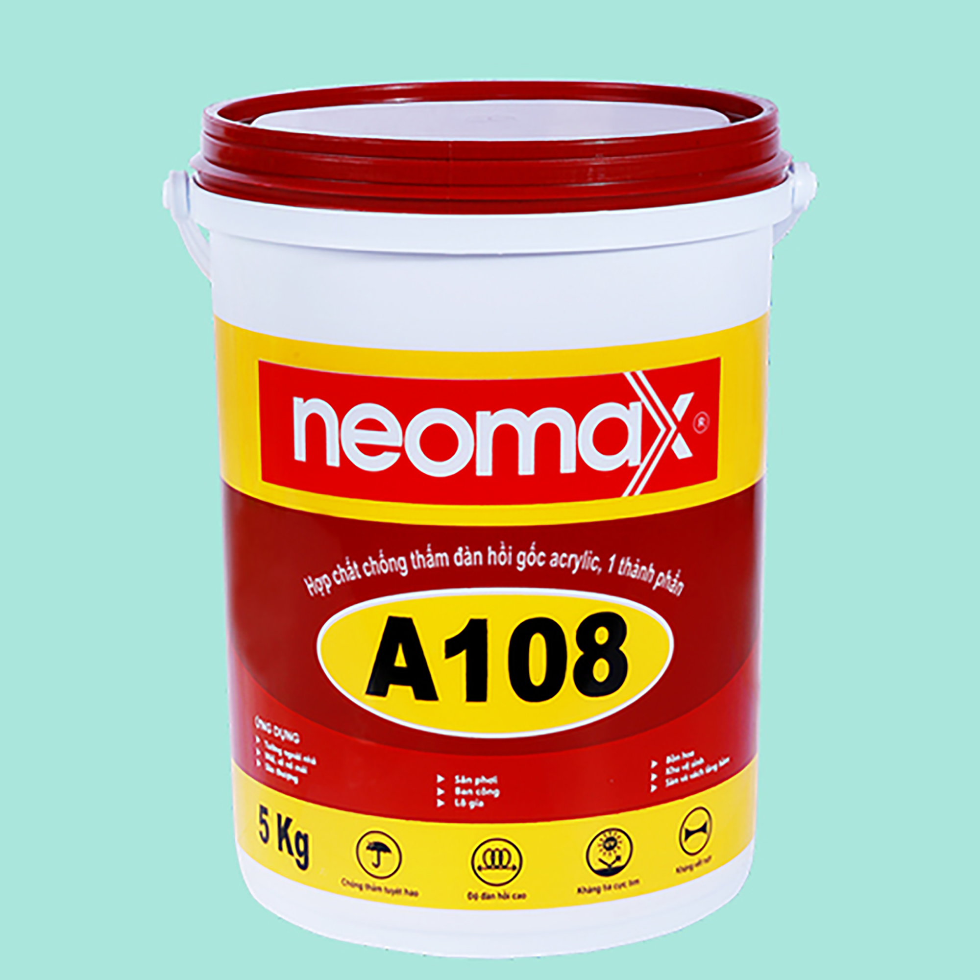 Sơn chống thấm tường nhà Neomax A108