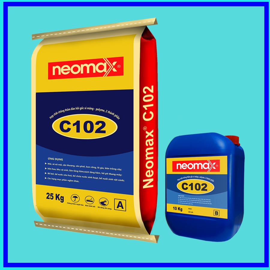 Hợp chất gốc xi măng neomax C102