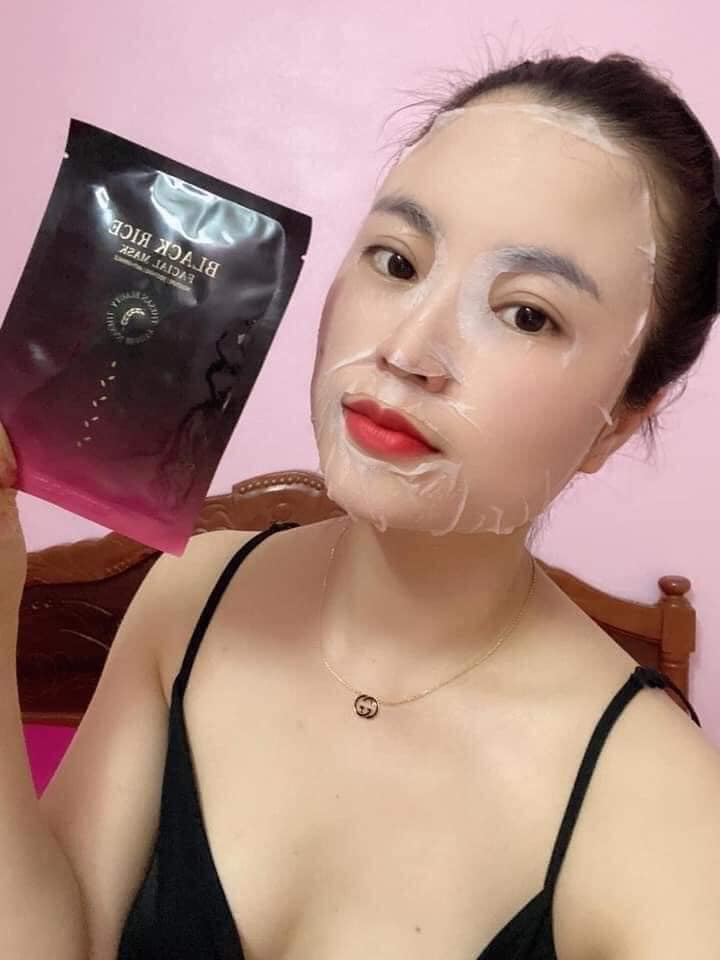 BLACK RICE MASK